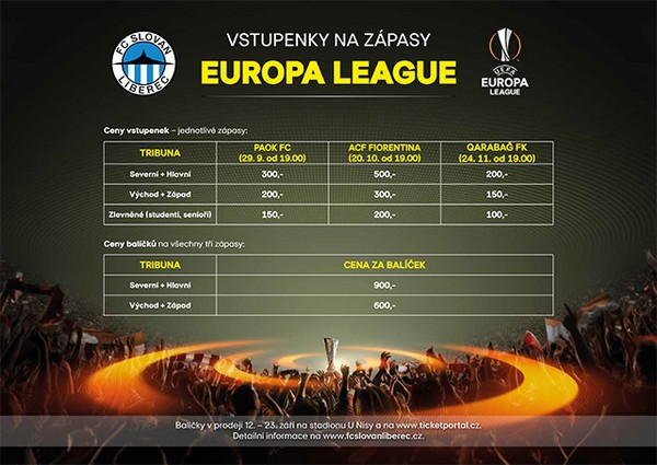 Slovan managed to reach group stage of Europa League, can we sell out the Stadium U Nisy?
